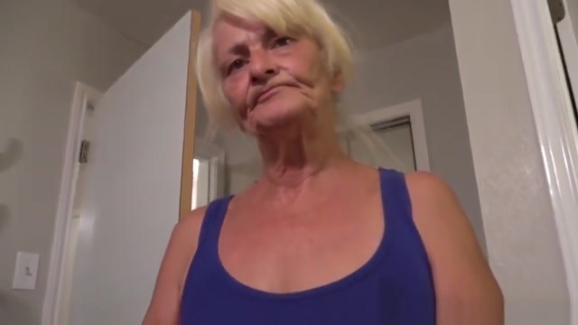 I Blackmailed Granny For Her Ass Hole