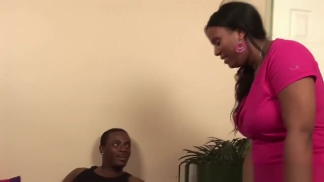 RealBlackExposed - Janae gets her plump black pussy rammed by mammoth dick
