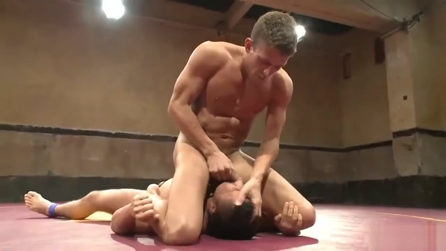 alex vs gust wrestling Wife surrounded nude men