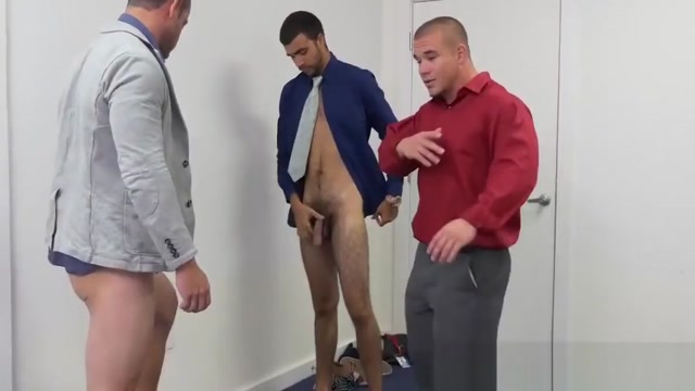 Hunky blindfolded guy fucked hard by his younger colleague Twinks group mutual masturbation outdoors
