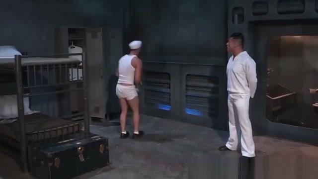 Muscular naval officer humiliates and fucks young sailor Dani Daniels,Malena Morgan and Shae Snow in aciton