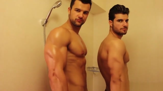 Muscled brothers taking a shower adult education in santa rosa