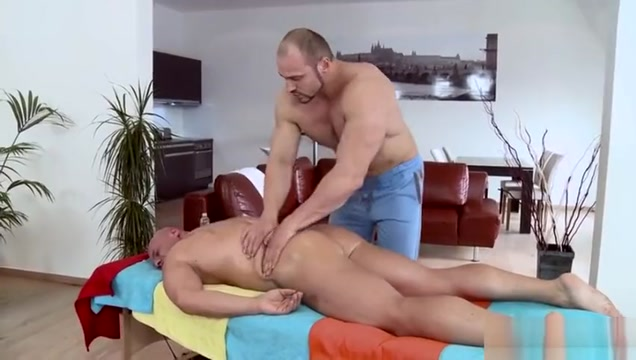 Muscle daddy anal sex with massage college sex free porn