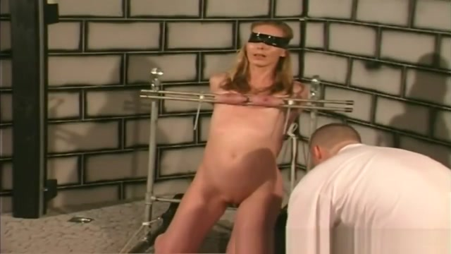 Blonde Slut Blindfolded Boobs Bonded Shaved Pussy Kelly starr porn tube videos at youjizz