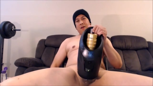 enjoying my fleshlight launch cock in mans ass