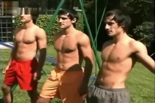 triplets em1lio lendro & R1cardo photoshoot. giant cock sex video