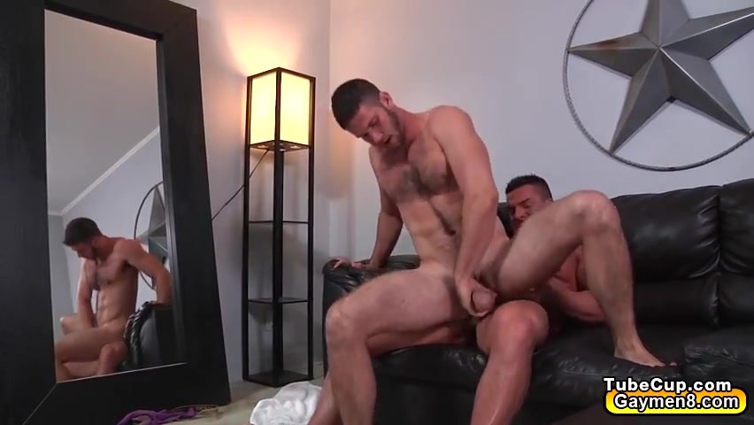 Gay with buff muscles sucks cocks and anal fucking in the balck couch Free nude wife photos