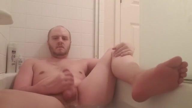 Solo Boy Bath Jerking w/ Feet & Cum lisa and marge nude