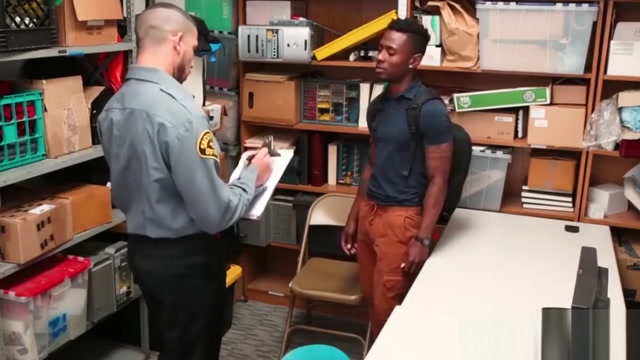 Security officer destroys a young ebony shoplifters ass free hd jav netorare porn