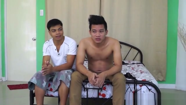 Asian Boy Rolly Gets Tickled and Jizzed On free porn cum in ass
