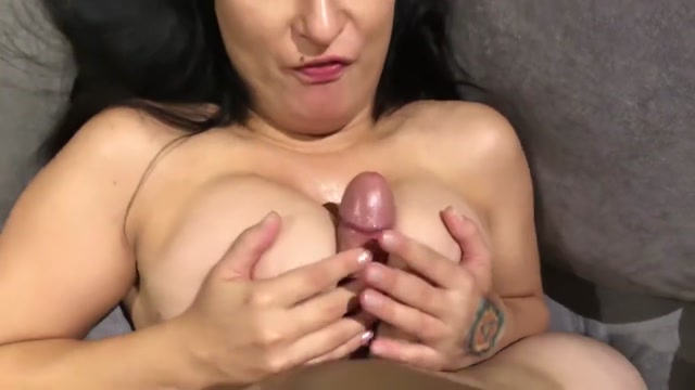 Titty fucking him till he explodes on my chest