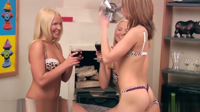 Britney, Dasha, and Claire get it on nice and hot Free Dildo Drill Clips