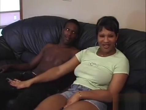 ebony guy Bonks BBW Thoe anal cream pie trailer