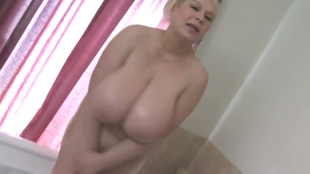 Big Tits Samantha Bathes Boobs Man with big penis