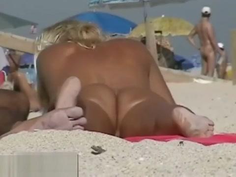 An extremely alluring nude beach voyeur vid Jordan blue interracial