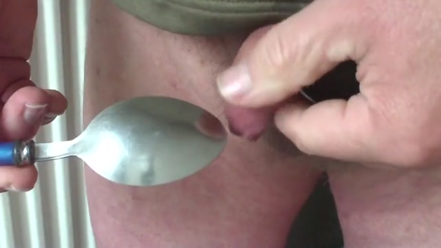 Large pliers in foreskin with 2 spoons Porno Gay Latino Amateur