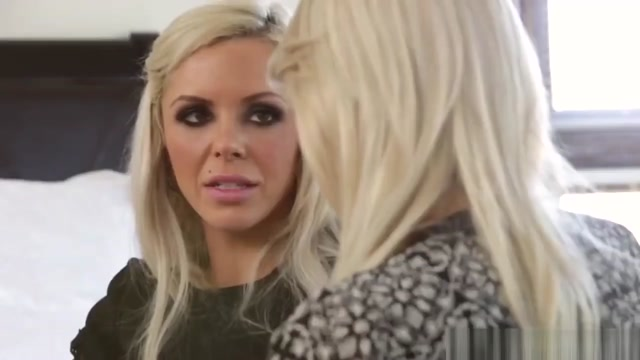 2 Hot Lesbian Blondes Have Fun In A Hot Get Together
