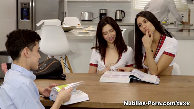 Eliza Ibarra & Jane Wilde in The Exchange Student Study Buddies - ThatsItComShow Where to find femdom mistress