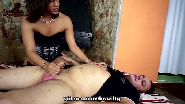 Rebeka Souza Plows Vinnys Ass - BrazilTGirlsXXX Fingering Tight Pussy Position After Position
