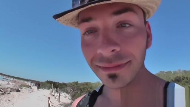 Blondine am Strand Es Trenc gefickt Shemale lesbian cumshots