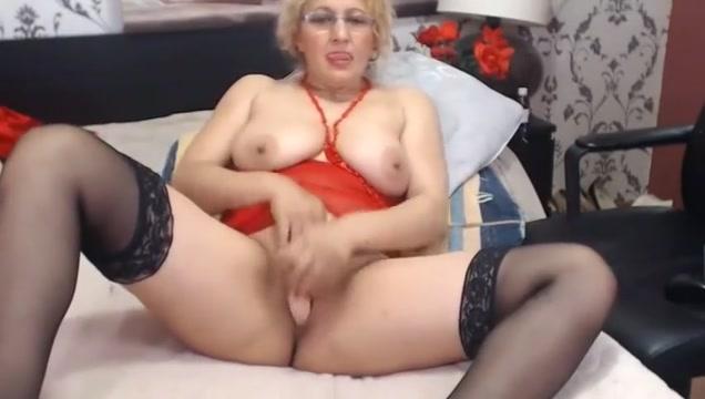 My 90 year old Grandma - 7CAMZ.COM Low slung mature tits