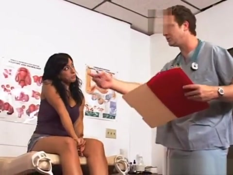 Ricki White Goes For Her Anual Checkup