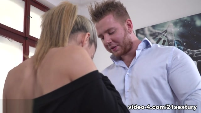 Ciara Riviera,Chad Rockwell in Getting Caught By MR. ROCKWELL - 21Sextury Ebony chest