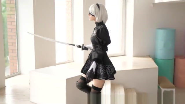 2B COSPLAY Xxx vidio black girl