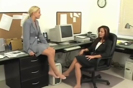 Cindy and Chantel Office Bound Lesbian bondage disapline