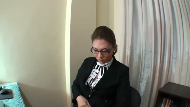 Office Secretary Ladyboy Saphire misa amane cosplay sex