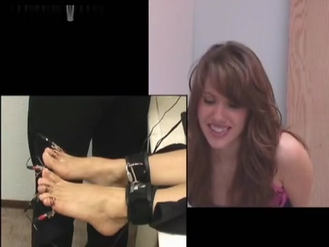 RealTickling - Shock Victoria 2 - Gets Intense on Her Toes
