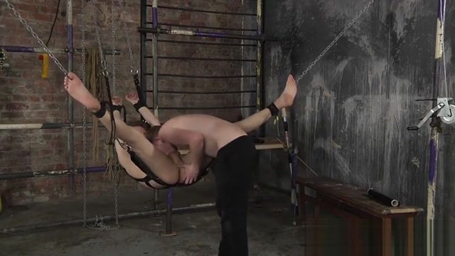 Kamyk Walker tied up and ass fucked by master Sean Taylor free porn movies with mom
