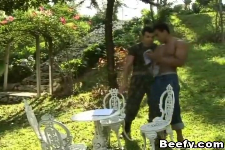 Gardener Have a Massive Fuck Outdoor Gif homemade cum eating