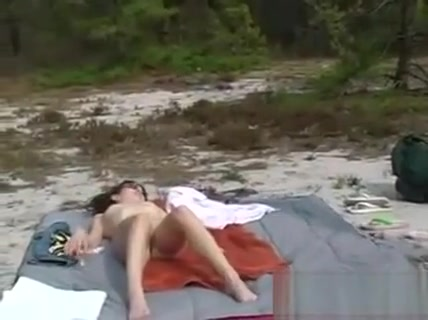 Lesbians Playing Outdoors In The Woods Hardcore sex on top