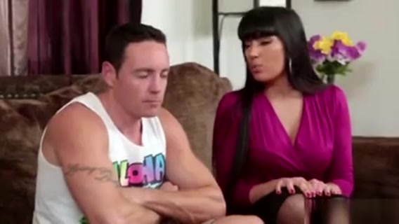Stepmom Fucks With Her Stepson On The Couch Forced by lesbians