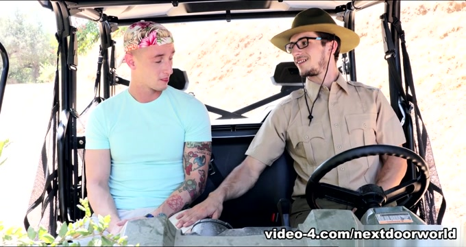 Lance Ford & Donte Thick in Caught in the Wilderness - NextdoorWorld Rub nipples south park