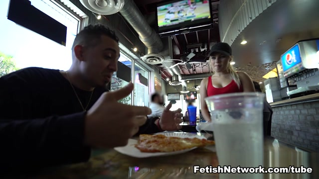 Pint-sized Pizzeria Girl - WaitressPOV Www.big Black Booty Porn
