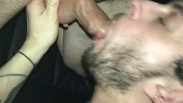 Blowing and swallowing married in his car Snapchat 3