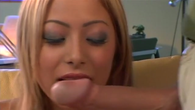 Kat has ass fucked by massive cock