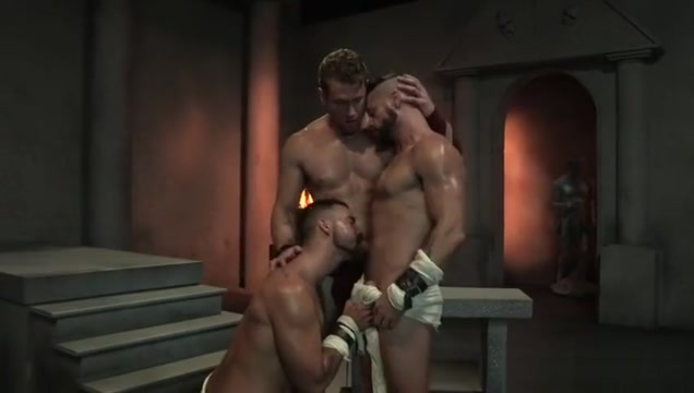 Muscle bear threesome with cumshot Ka SasRo tja