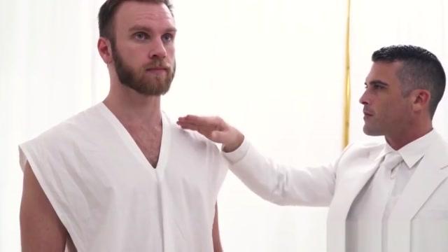 Beefy Mormon pastor raw fucks hairy initiate before creampie Ciara bravo sex story