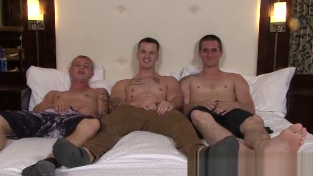 Hung military jock bent over and raw banged threeway style elite gifls xxx videod