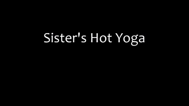 Sisters Hot Yoga Naughty nude models