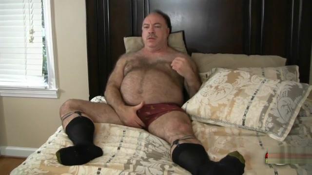 DADDY BEAR ENJOYS WITH BLACK COCK Homemade big boobs nude