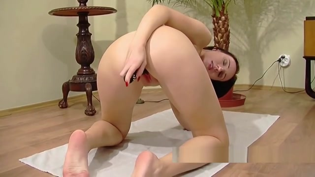 Brunette cutie Jenny fucks her little twat with a toy Find friends in australia