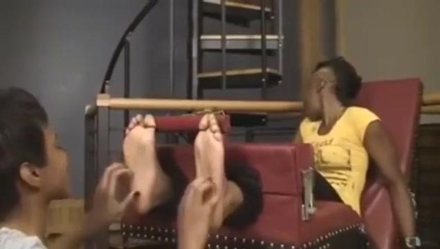 Ebony Tickling Perfect body ebony teen