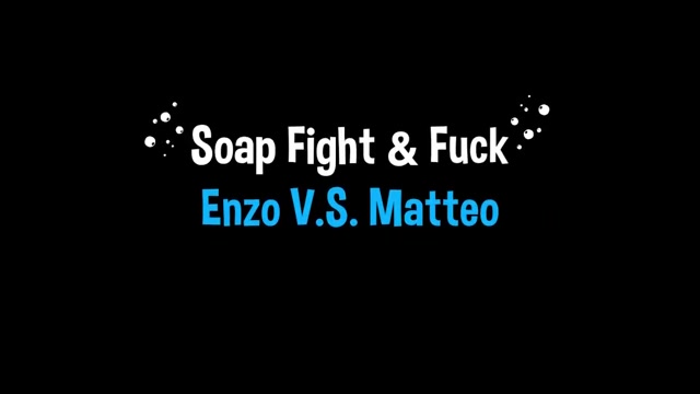Matteo Lavigne and Enzo Lemercier fight in the foam Finger butt anal ass