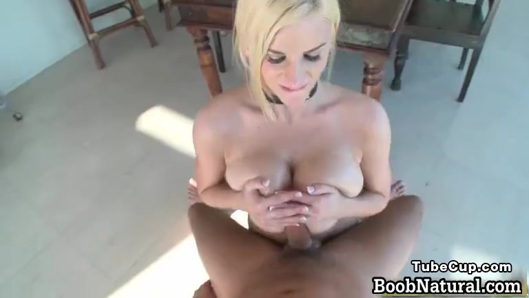 Hot big boobed blonde slut sucking part6