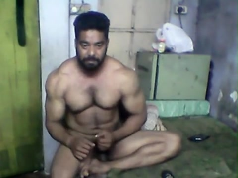 Indian Muscle (No cum) Part 3 How to give good oral sex to a man
