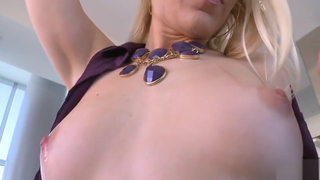 Gorgeous Blonde is ready to go Milf With Girls